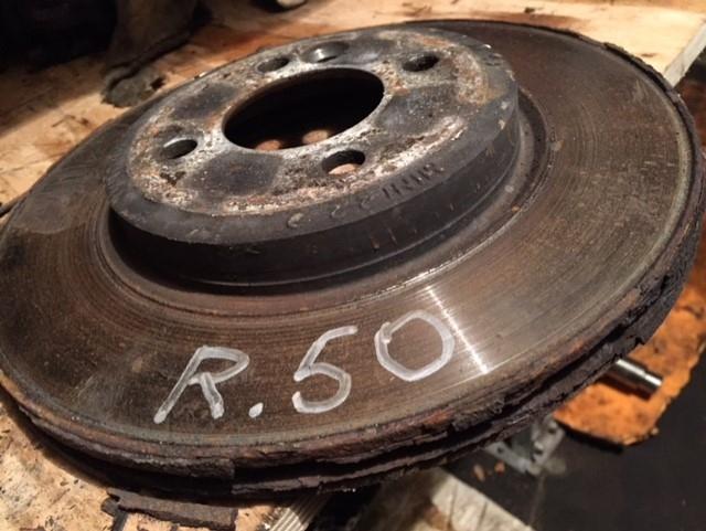 Диск тормозной передний Mini Cooper R50 2005 1.6 90лс