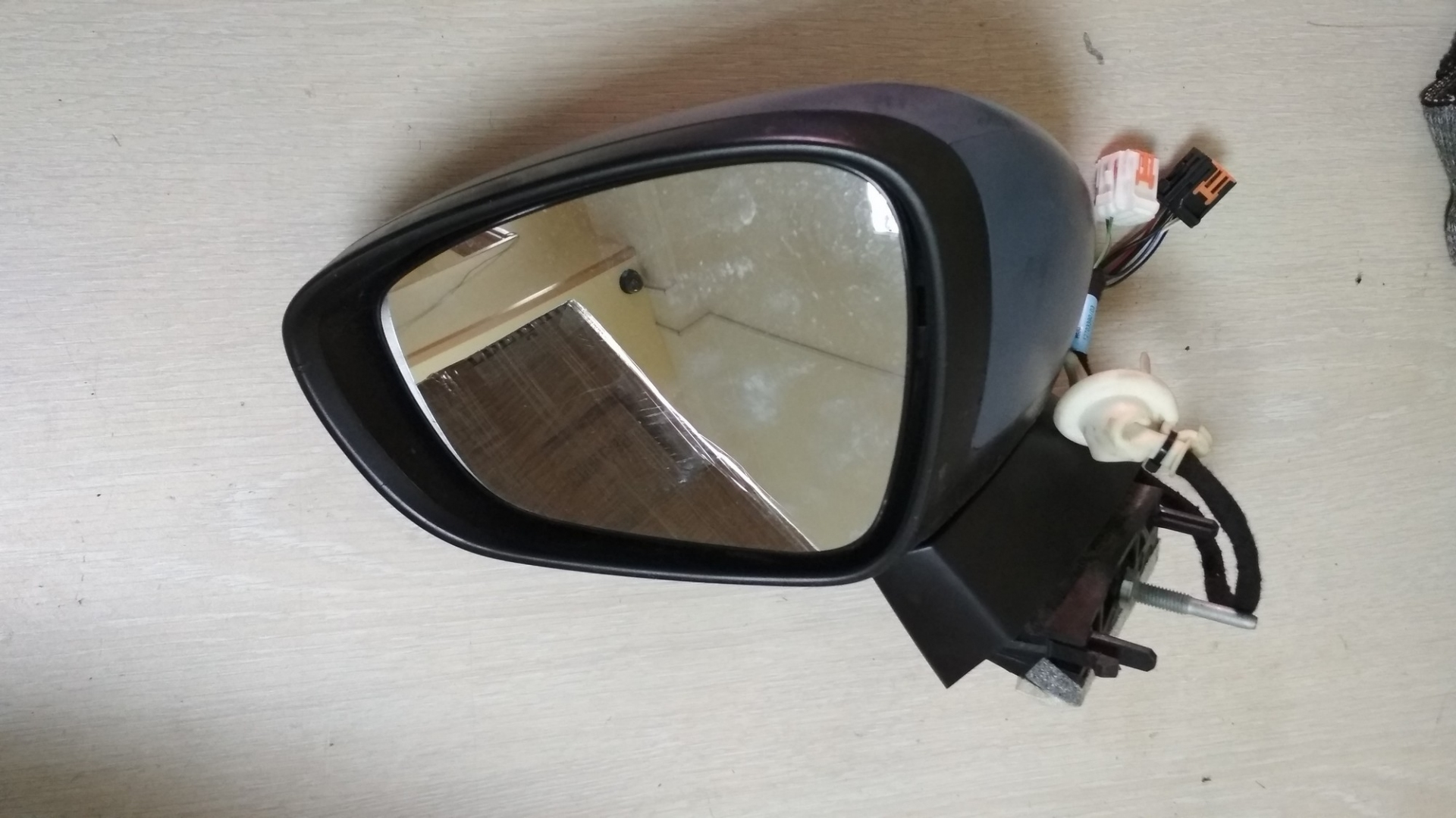 Зеркало боковое правое Citroen C4 2014-